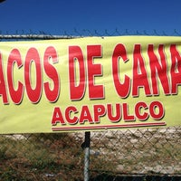 "Photo taken at ""Acapulco"" Tacos de Canasta by Josue on 11/8/2012"