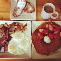 Photo taken at Portage Bay Cafe & Catering by Angela on 1/27/2013