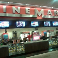 Photo taken at Cinemark by Eric F. on 10/12/2012