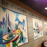 Photo taken at Metro Restauradores [AZ] by Ju on 5/14/2013