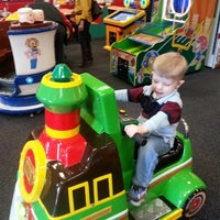 Photo taken at Chuck E. Cheese's by Kelly C. on 12/28/2012