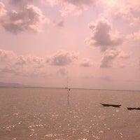 Photo taken at Baan Tai Beach by syazwan s. on 2/10/2013