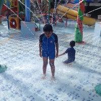 Photo taken at Kids Fun Water Park by Rizal B. on 3/5/2014