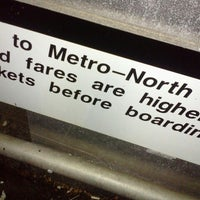 Photo taken at Metro North - Noroton Heights Train Station by Carlos R. on 12/6/2012