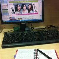 Photo taken at Vision 21 Media by Hà Hoàng Anh on 12/5/2012