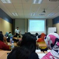 Photo taken at OUM Pusat Pembelajaran Shah Alam by Muhamad A. on 10/20/2012