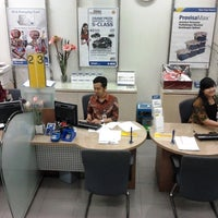 Photo taken at Bank BCA by nur d. on 1/7/2013