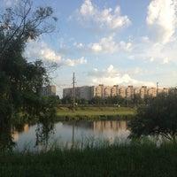 Снимок сделан в Троєщинський канал пользователем Галченок;) 6/5/2013