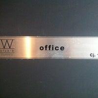 Photo taken at Studio W - Office by Rodrigo Trestin on 1/31/2013