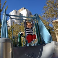 Photo taken at John Jay Playground by Alexis on 10/21/2012
