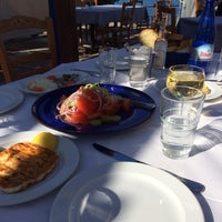 Photo taken at NOSTOS Fish Restaurant by Linda on 2/21/2015