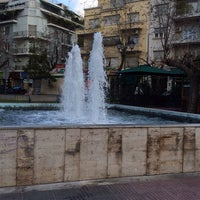 Photo taken at Mavili Square by Linda on 2/17/2015