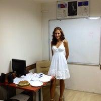Photo taken at Just English Language & Toefl Center - TR by Zeynep E. on 4/9/2013
