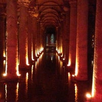 Photo taken at Basilica Cistern by Dmitry F. on 6/22/2013