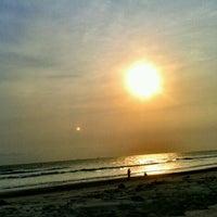 Photo taken at Pantai Panjang (Long Beach) by Muchliz U. on 10/4/2012