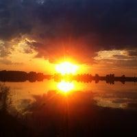Photo taken at Дамба у прудов by Svetochka on 7/7/2014