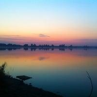 Photo taken at Дамба у прудов by Svetochka on 8/21/2014