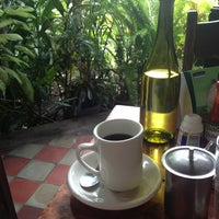 Photo taken at The Garden Café by Maria Isabel C. on 3/29/2013