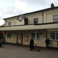 Photo taken at Winchester Railway Station (WIN) by Sam on 2/23/2013