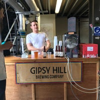 Photo taken at Gipsy Hill Brewery by Sam on 8/12/2017