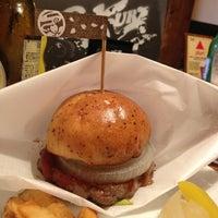 Photo taken at Sakura Burger by 真子 on 6/29/2013