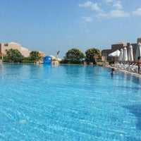 Photo taken at Cancun Beach Resort by HossamEldeen A. on 11/9/2012