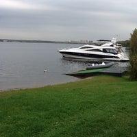 Снимок сделан в Яхт-клуб «Галс» пользователем Vlad 9/27/2012