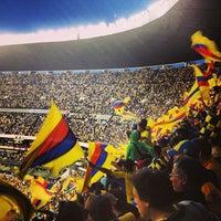 Photo taken at Estadio Azteca by Rebeca on 5/27/2013