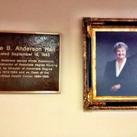 Photo taken at Anderson Hall - ANHN by Hinds C. on 10/16/2012