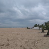 Photo taken at Spiaggia San Benedetto Del Tronto by Susy C. on 10/21/2016