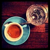 Photo taken at Workshop Coffee Co. by AJ L. on 10/12/2012