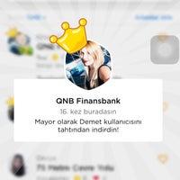 Photo taken at QNB Finansbank by Nisan Z. on 2/20/2018