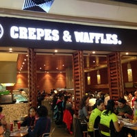 Photo taken at Crepes & Waffles by Brenda on 6/30/2013