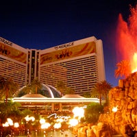 Photo taken at The Mirage Volcano by JK G. on 1/22/2013