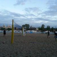 Photo taken at Elagin Volleyball Beach Resort by Denis on 5/22/2013