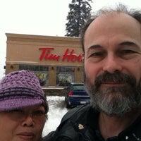 Photo taken at Tim Hortons by Douglas J. on 3/2/2014