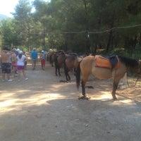 Photo taken at Fethiye Horse Rıdıng by Onur A. on 7/25/2013