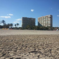 Photo taken at Paseo San Juan Playa by Melike T. on 9/13/2014