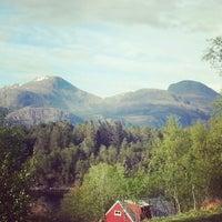 Photo taken at Florø by Veronika B. on 5/25/2013
