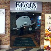 Photo taken at Egon Restaurant by Gro on 2/28/2013