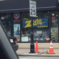 Photo taken at Zone Comics by Wade W. on 8/28/2013