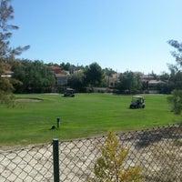 Photo taken at Campo de golf by Kike H. on 10/9/2012