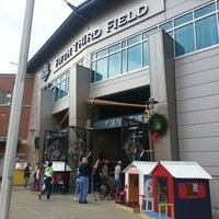 Photo taken at Fifth Third Field by Jonathon B. on 7/27/2013
