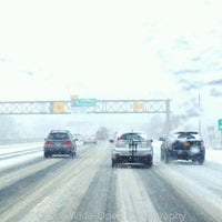 Photo taken at LIE Exit 48 by Joey M. on 1/21/2014