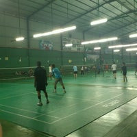 Photo taken at 99 Badminton Court by Khairul A. on 10/27/2012