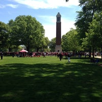 Photo taken at University of Alabama Quad by Bryan A. on 4/19/2014