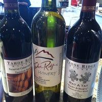Photo taken at Tahoe Ridge Winery and Bistro and Olive Oil Market by Lisa D. on 8/9/2013