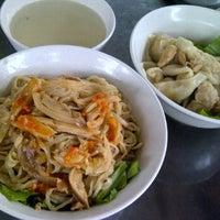 Photo taken at Mie Garing Bethanie by Vina R. on 10/26/2012