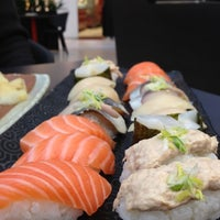 Photo taken at Zen Sushi by Timo S. on 12/2/2012