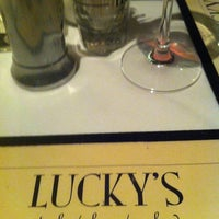Photo taken at Lucky's Steakhouse by Rhonda M. on 4/20/2013